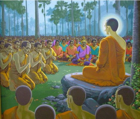 Buddha Teaching