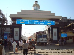 Belhiya-Nautanuwa Border Crossing