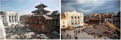 Before-After-Basantapur-Durbar-Square