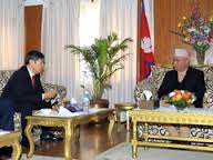 PM Oli and JICA President
