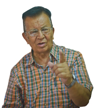 Buddhinarayan Shrestha. Photo: Bijay Gajmer/Republica/Nagarik