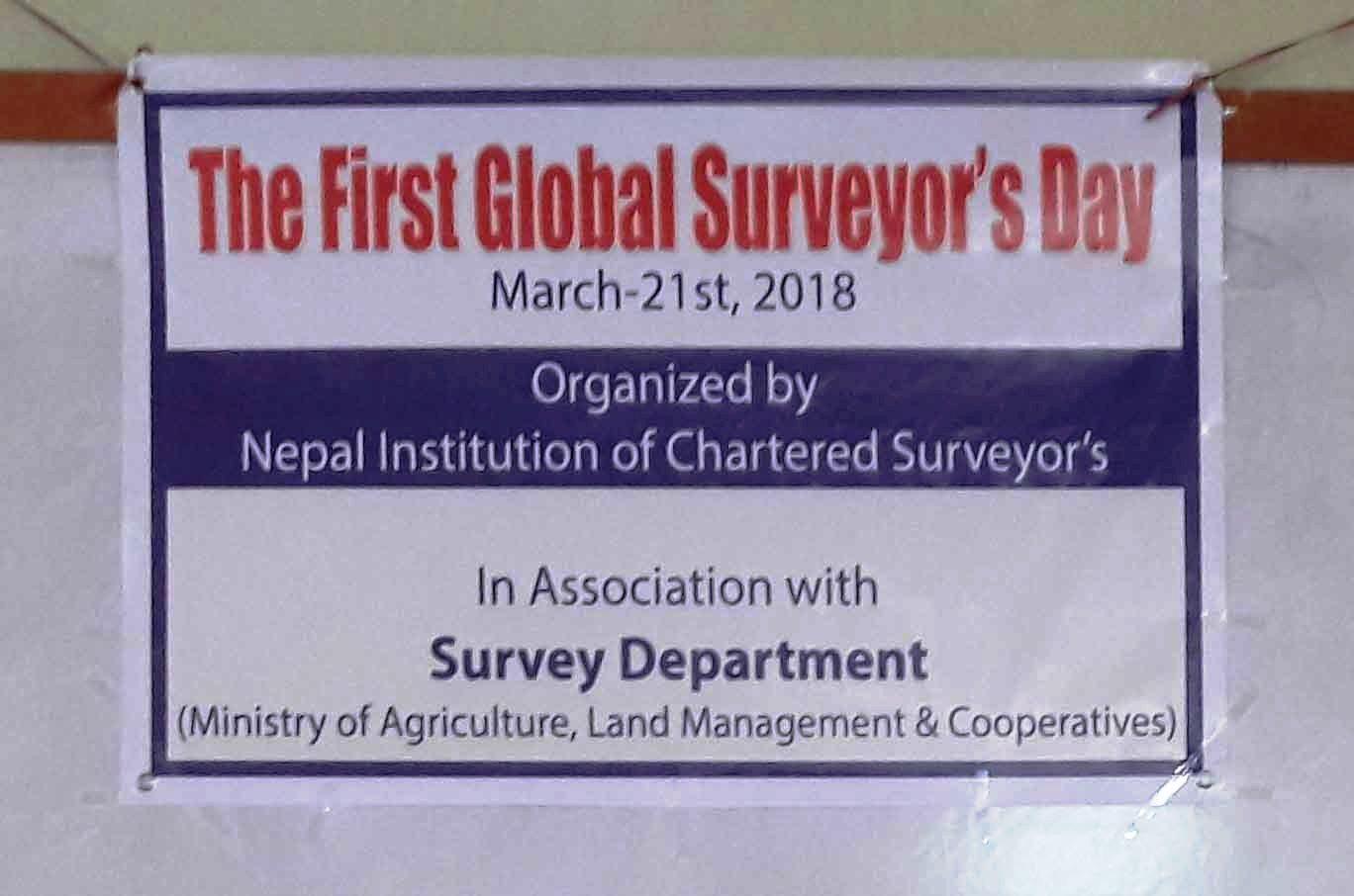 Global Surveyors Day-1